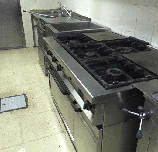 Limpieza de campanas extractoras en madrid termy for Todo para cocinas industriales