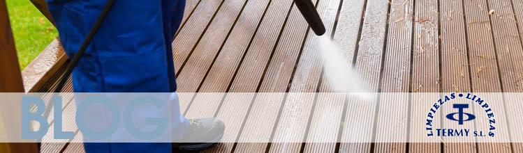 consejos para limpiar la terraza